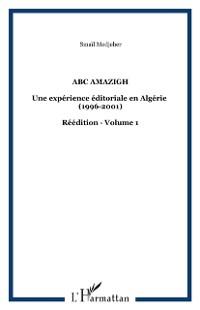Cover Abc amazigh experience editoriale en alg