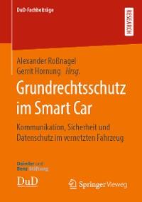 Cover Grundrechtsschutz im Smart Car