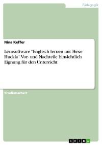 """Cover Lernsoftware """"Englisch lernen mit Hexe Huckla"""". Vor- und Nachteile hinsichtlich Eignung für den Unterricht"""
