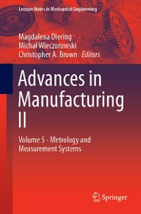 Cover Advances in Manufacturing II