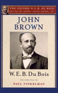 Cover John Brown (The Oxford W. E. B. Du Bois)