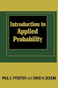 Cover Introduction to Applied Probability