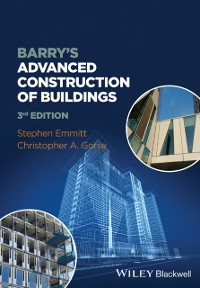 Cover Barry's Advanced Construction of Buildings