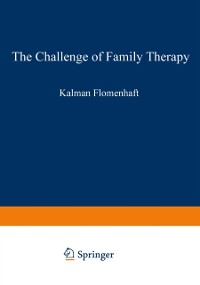 Cover Challenge of Family Therapy