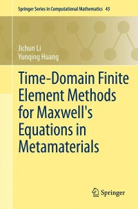 Cover Time-Domain Finite Element Methods for Maxwell's Equations in Metamaterials