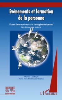 Cover Evenements et formation de la personne - ecarts internationa