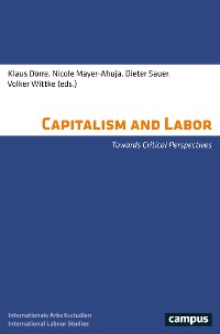 Cover Capitalism and Labor
