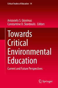 Cover Towards Critical Environmental Education