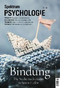 Cover Spektrum Psychologie  2/2019 Bindungen