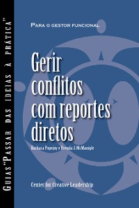 Cover Managing Conflict with Direct Reports (Portuguese for Europe)