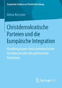 Cover Christdemokratische Parteien und die Europäische Integration