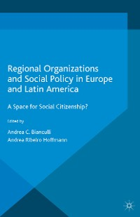 Cover Regional Organizations and Social Policy in Europe and Latin America