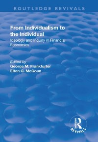 Cover From Individualism to the Individual