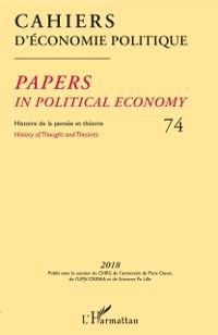 Cover Cahiers d'economie politique 74