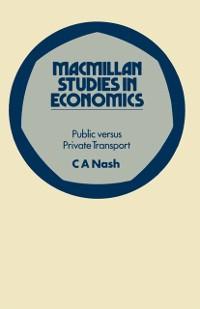 Cover Public versus Private Transport