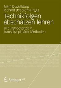 Cover Technikfolgen abschätzen lehren