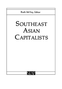 Cover Southeast Asian Capitalists