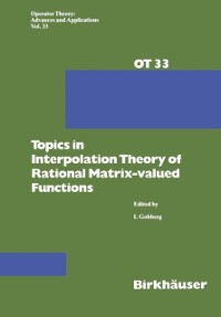 Cover Topics in Interpolation Theory of Rational Matrix-valued Functions