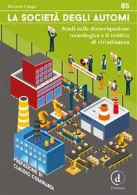 Cover La società degli automi
