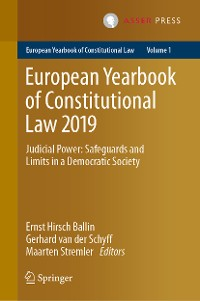 Cover European Yearbook of Constitutional Law 2019