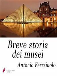 Cover Breve storia dei musei