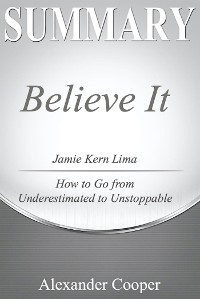 Cover Summary of Believe IT