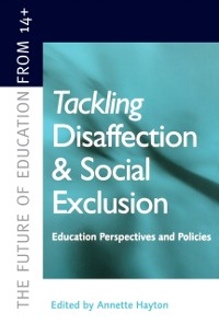 Cover Tackling Disaffection and Social Exclusion