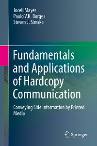 Cover Fundamentals and Applications of Hardcopy Communication