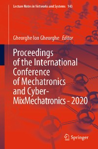 Cover Proceedings of the International Conference of Mechatronics and Cyber- MixMechatronics - 2020