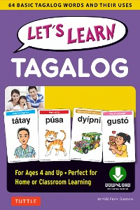 Cover Let's Learn Tagalog Ebook