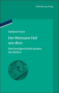 Cover Der Weimarer Hof um 1800