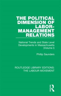 Cover Political Dimension of Labor-Management Relations