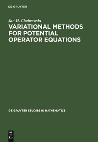 Cover Variational Methods for Potential Operator Equations