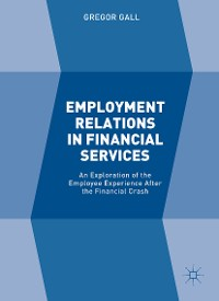 Cover Employment Relations in Financial Services