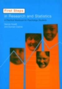 Cover First Steps In Research and Statistics