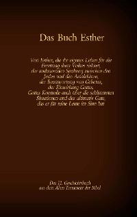 Cover Das Buch Esther, das 12. Geschichtsbuch aus dem Alten Testament der Bibel
