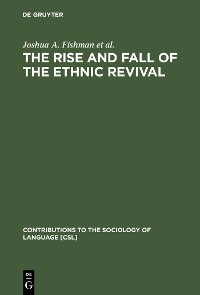 Cover The Rise and Fall of the Ethnic Revival