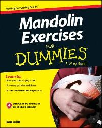 Cover Mandolin Exercises For Dummies