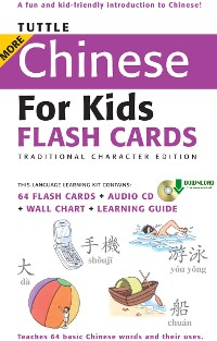 Cover Tuttle More Chinese for Kids Flash Cards Traditional Charact