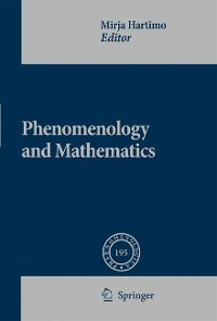Cover Phenomenology and Mathematics