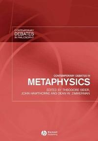Cover Contemporary Debates in Metaphysics