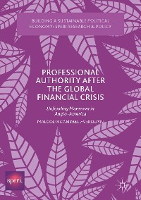 Cover Professional Authority After the Global Financial Crisis