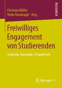 Cover Freiwilliges Engagement von Studierenden