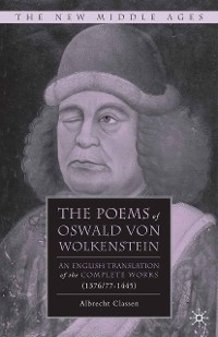 Cover The Poems of Oswald Von Wolkenstein