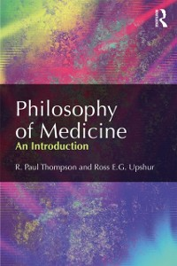 Cover Philosophy of Medicine