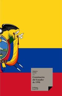 Cover Constitución de Ecuador de 1998