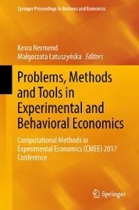 Cover Problems, Methods and Tools in Experimental and Behavioral Economics
