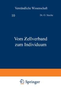 Cover Vom   ellverband zum Individuum