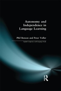 Cover Autonomy and Independence in Language Learning