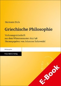 Cover Griechische Philosophie